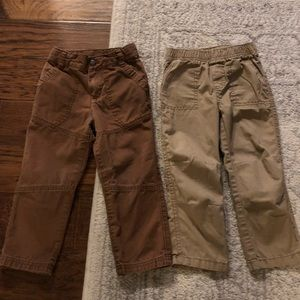 Khaki and Brown 3T toddler Pants